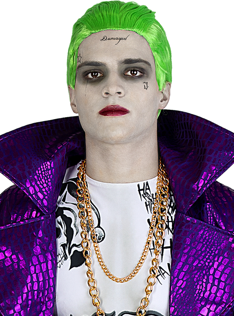 Peluca de Joker - Suicide Squad
