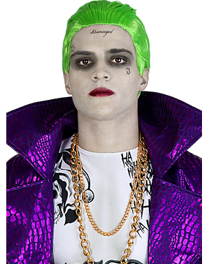 Joker Parykk - Suicide Squad