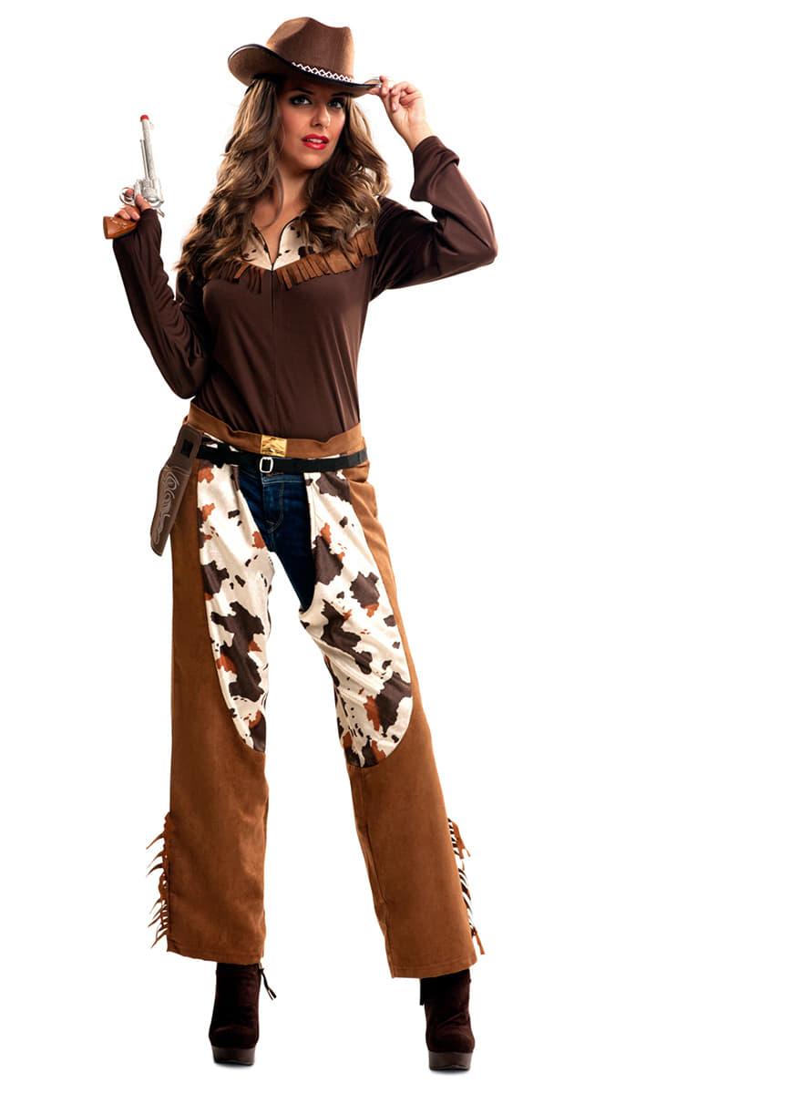 women 39 s cowboy gunfighter costume. Black Bedroom Furniture Sets. Home Design Ideas