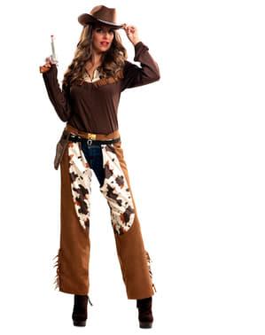 Cowgirl Kostüm für Damen Classic