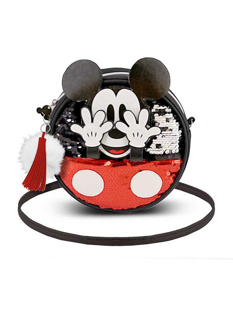 Bolso de Mickey Mouse redondo con lentejuelas - Disney