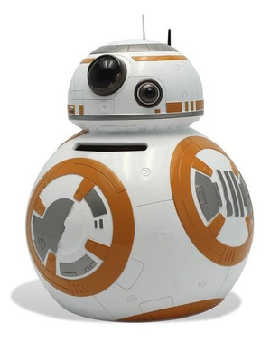 BB8 prasiatko - Star Wars
