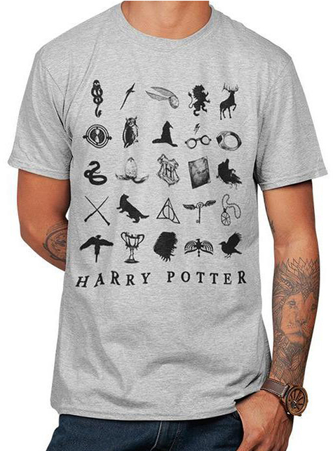Camiseta Harry Potter estampada