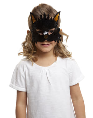 Girl's Sparkly Cat Eye Mask