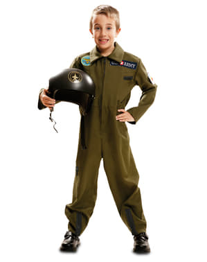 Boy's Navy Pilot Costume