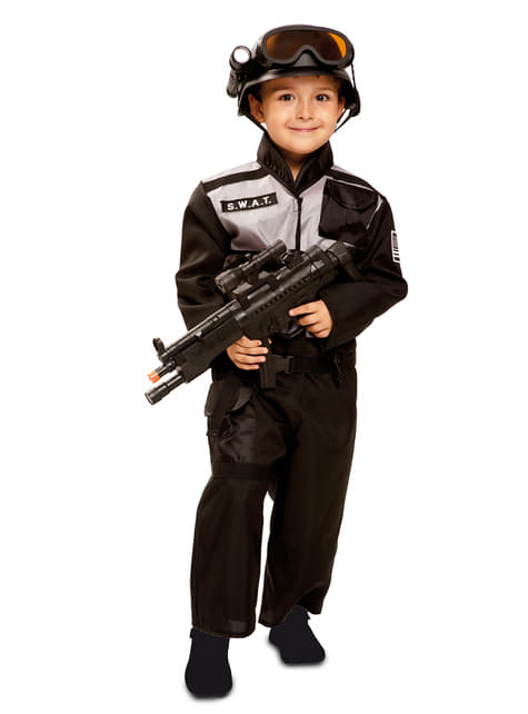 genuino moda di lusso trova fattura Costume SWAT per bambino