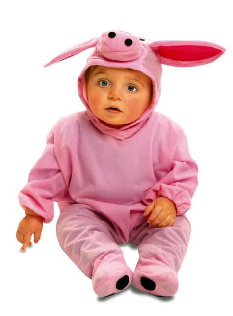 Disfraz de cerdito de granja para bebé