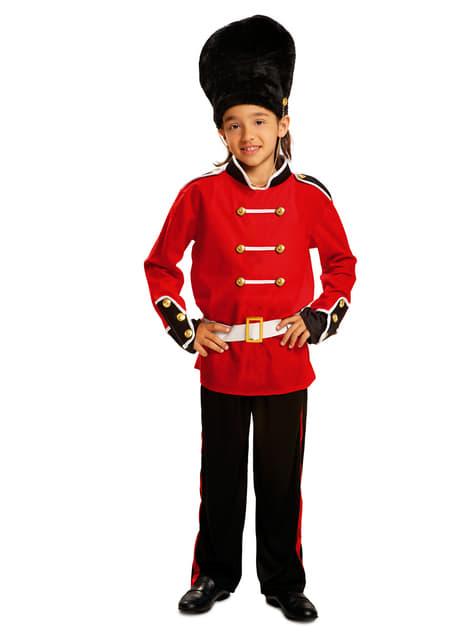 Englische Hofwache Kostüm für Jungen