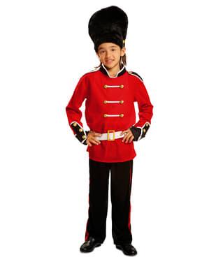 Disfraz de guardia real inglés para niño