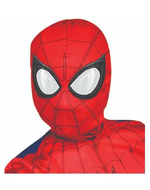 Máscara de Homem-Aranha de tecido para menino