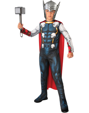 Costum Thor pentru băiat - The Avengers united