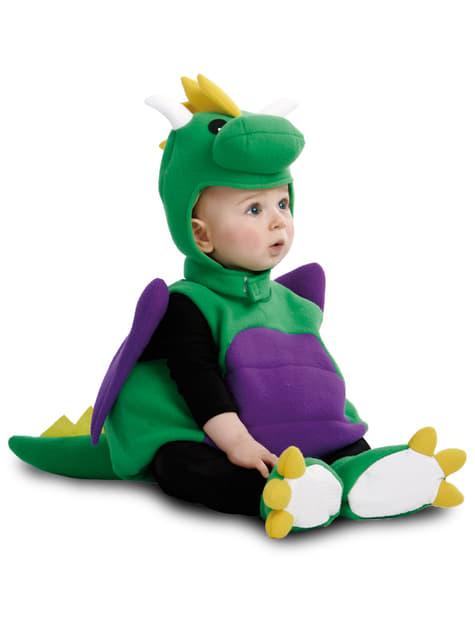 Disfraz de dinosaurio adorable para bebé