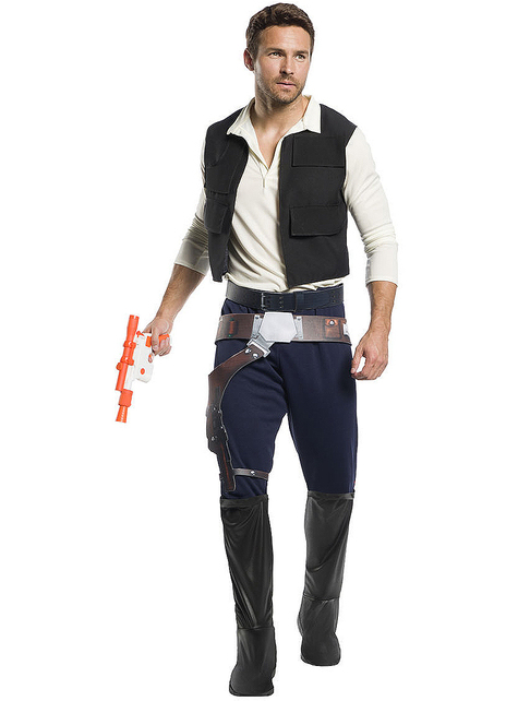 Disfraz de Han Solo para adulto - Star Wars