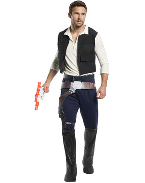 Han Solo Costume for Adults - Star Wars