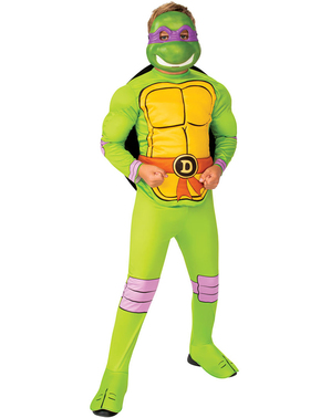 Donatello Costume for Boys - Ninja Turtles
