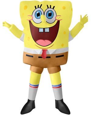 Inflatable SpongeBob Costume for Kids