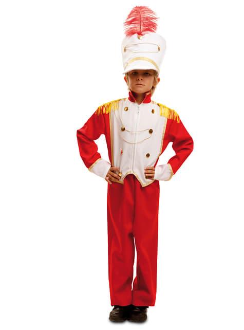 Drum Major kostuum voor jongens