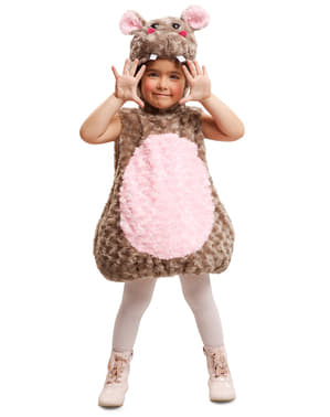 Costume da ippopotamo di peluche infantile