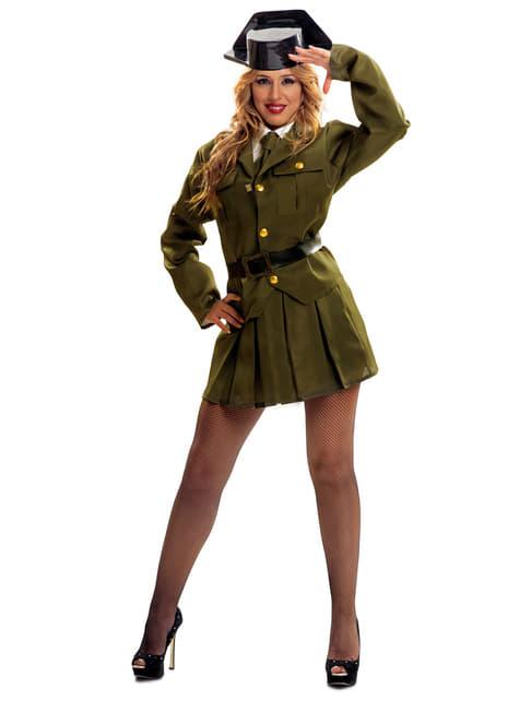 Fato de guarda civil para mulher