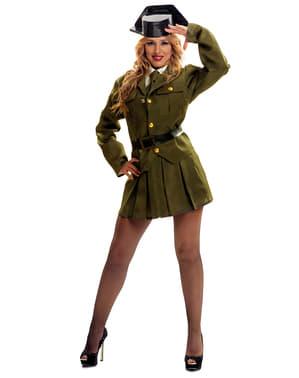 Zöld katona jelmez