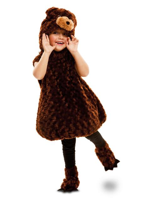 Strój pluszowy niedźwiadek brunatny dla dzieci