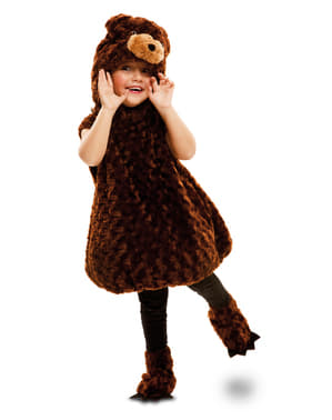 Kids's Stuffed Brown Bear Costume