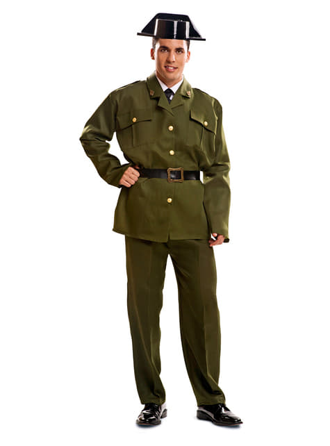 Man's Civil Guard Costume
