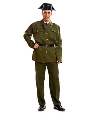 Fato de guarda civil para homem