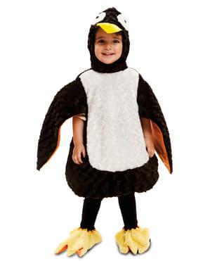 Costum de pinguin adorabil de pluș pentru copii