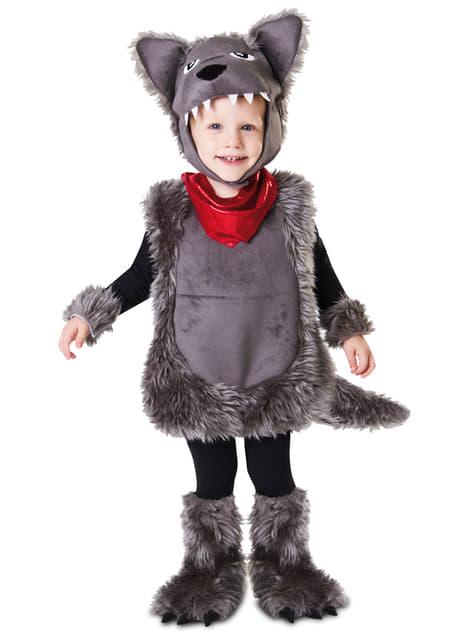 Costume da lupo selvaggio per bambino. consegna express funidelia
