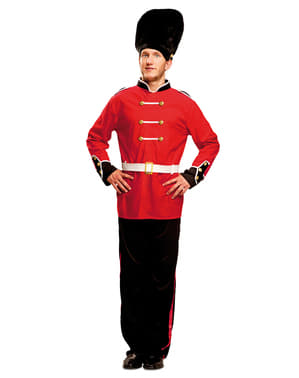 Man's English Royal Guard Costume