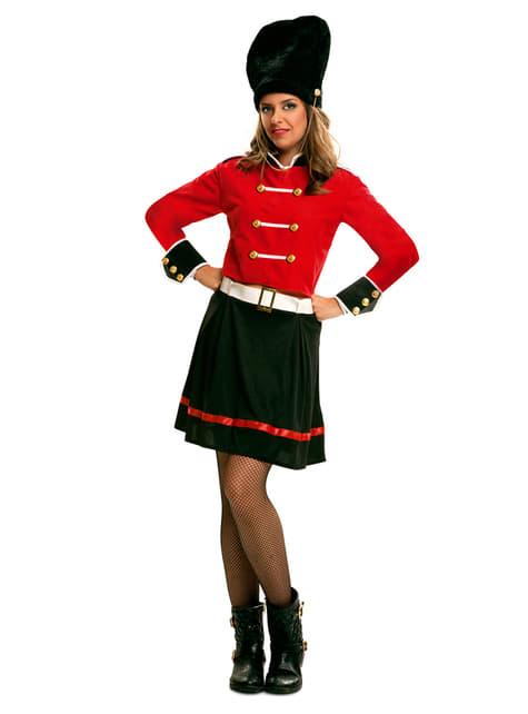 Kostium angielska straż królewska damski