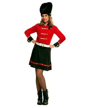 Britse Royal Guard Kostuum voor vrouw