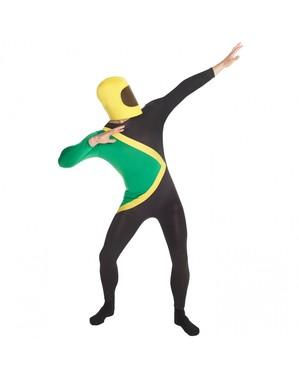 Costum pentru adulți din steagul Jamaicii