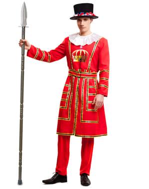 Miesten Lontoon Towerin vartija -asu
