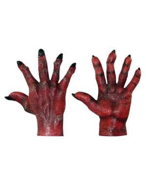 Čertovské ruce červené