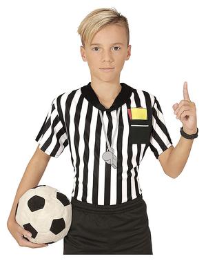 Camiseta de árbitro para niño