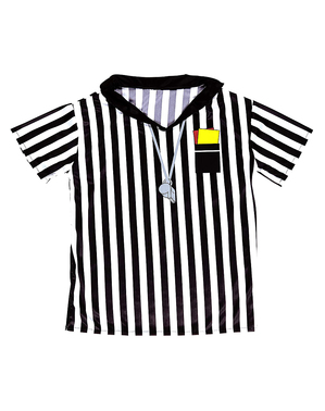 T-shirt de árbitro para menino