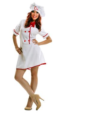 Chefköchin Kostüm für Damen