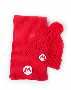 Super Mario Bros Beanie і шарф Set - Nintendo