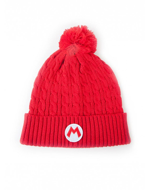 Super Mario Bros Beanie and Scarf Set - Nintendo