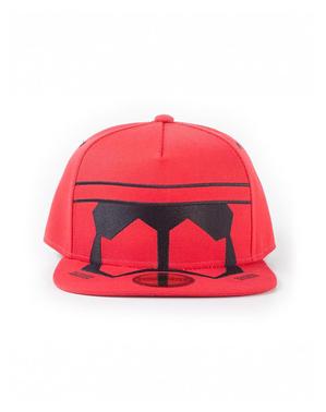 Star Wars IX: The Rise of Skywalker röd trooper keps