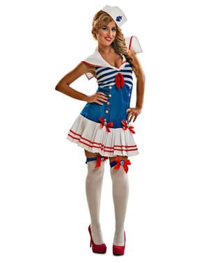 Женска провокативна костюм за моряци