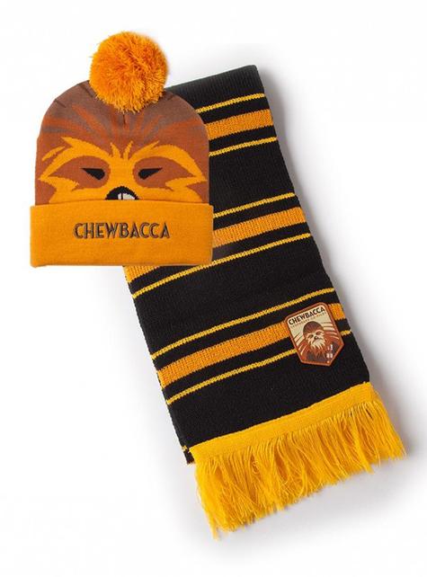 Set de gorro y bufanda Chewbacca - Star Wars