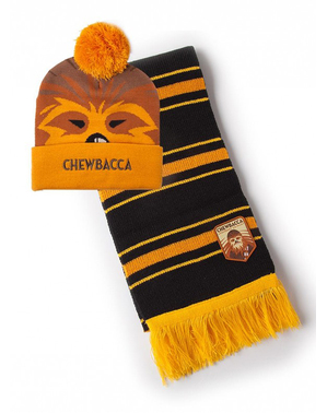 Chewbacca mössa och halsduk set - Star Wars
