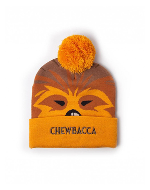 Set čepice a šála Chewbacca - Star Wars