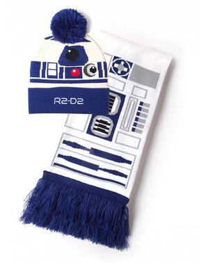 R2D2 mössa och halsduk set - Star Wars
