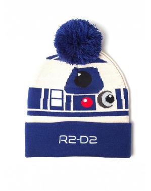 Conjunto de gorro e cachecol R2D2 - Star Wars