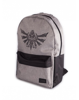 Mochila The Legend of Zelda Hyrule cinzenta