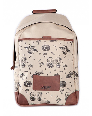 The Legend of Zelda Brown Backpack